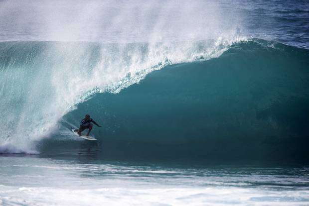 Kelly Slater in tubo