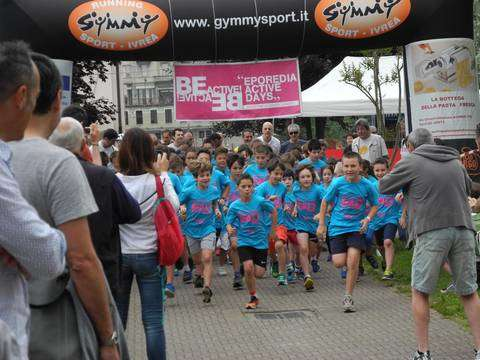 Eporedia Active Days 2016 partenza Junior Run