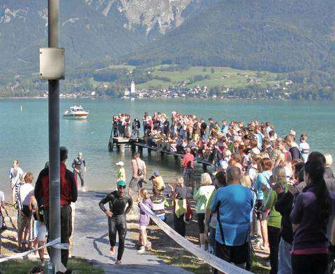 Triathlon a Strobl am Wolfgangsee