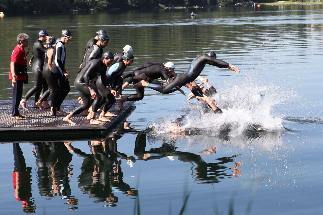 Primo Triathlon di Ivrea (TO): 423 al via, vincono Polikarpenko e Meini fra le polemiche - Album fotografico