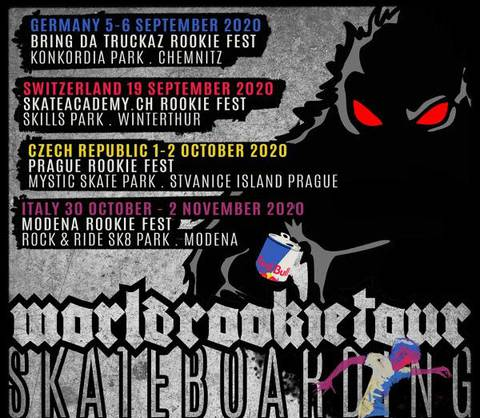 Apertura World Rookie Tour Skateboard