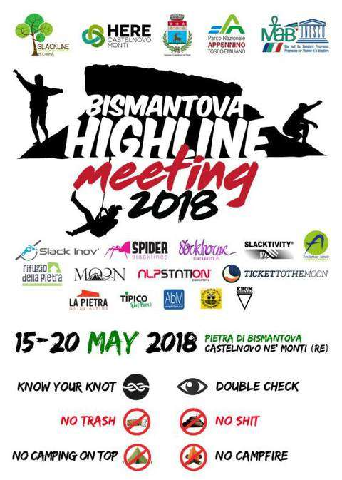 Bismantova highline meeting