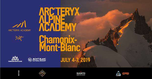 CAMP con Arc'teryx all'Alpine Academy 2019