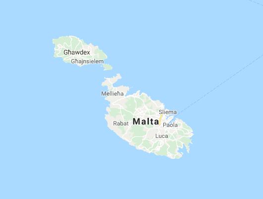 Cartina Di Malta E Gozo.Cartina Malta Gozo E Comino Outdoor Passion
