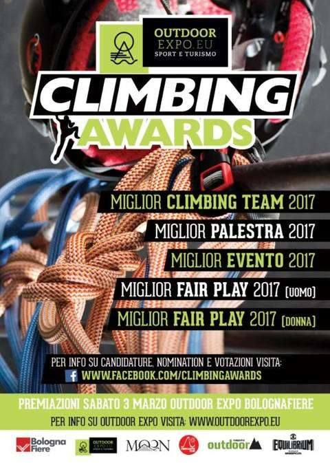 Climbing Awards Outdoor Expo