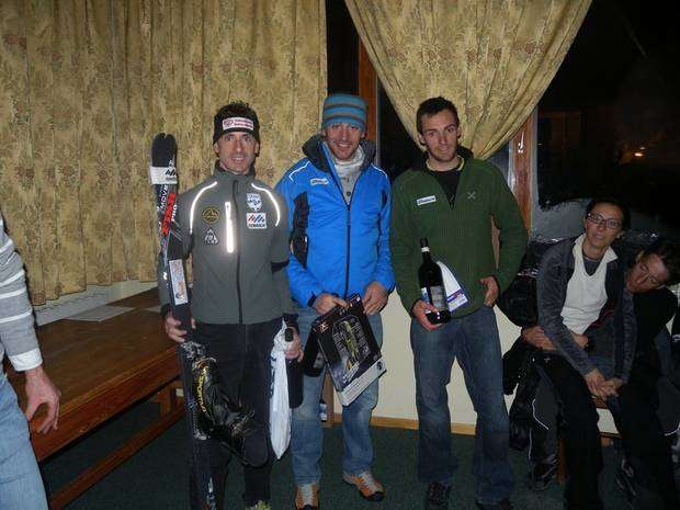 Lenzi, Brunod, Eydallin, podio d'elite per la prima Night & Winter Vertical Kilometer