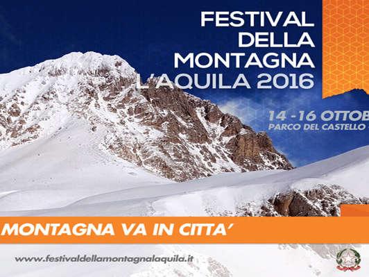 Festival della montagna l 39 aquila volantino foto for Volantino acqua e sapone l aquila