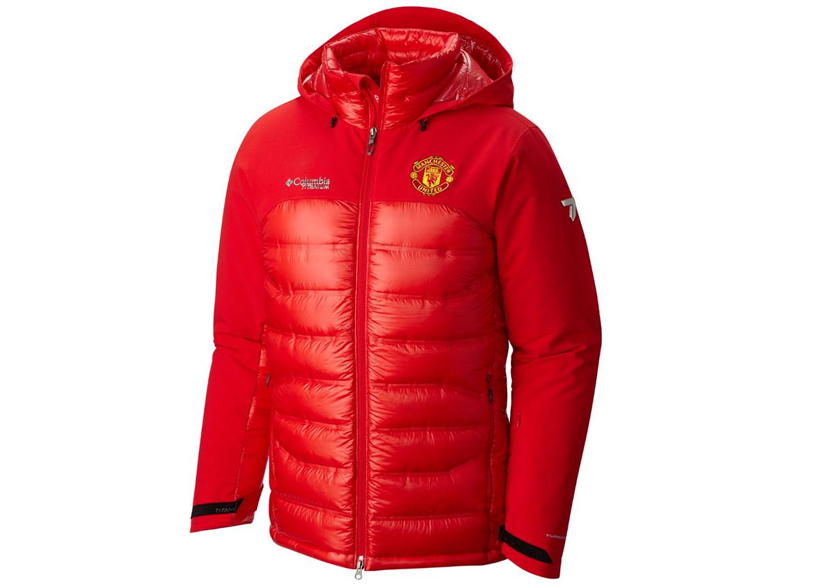 Giacca con cappuccio Heatzone 1000 TurboDown™ da uomo Manchester United