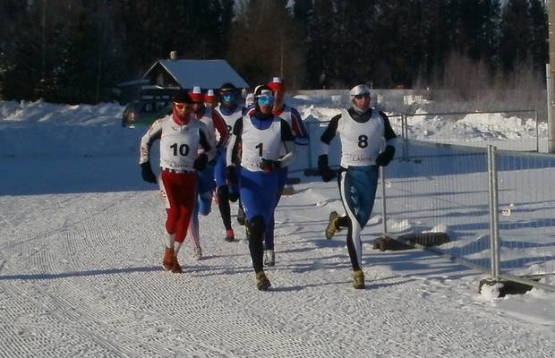 ITU Winter Triathlon European di Lathe