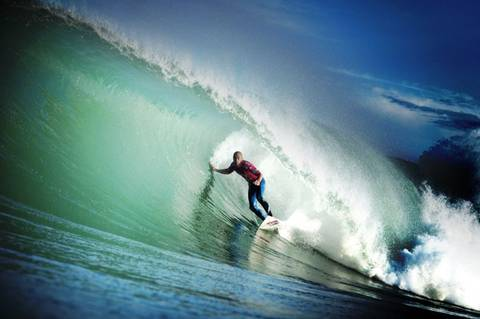 Quiksilver Pro France Kelly Slater tube 2 rabejac