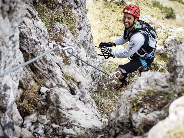 Rewoolution Raid Bergamo: la salita in ferrata