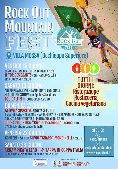 Rock Out Fest volantino