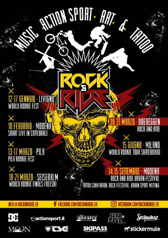 Rock and Ride volantino