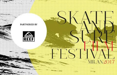 Skate and surf Film Festival volantino