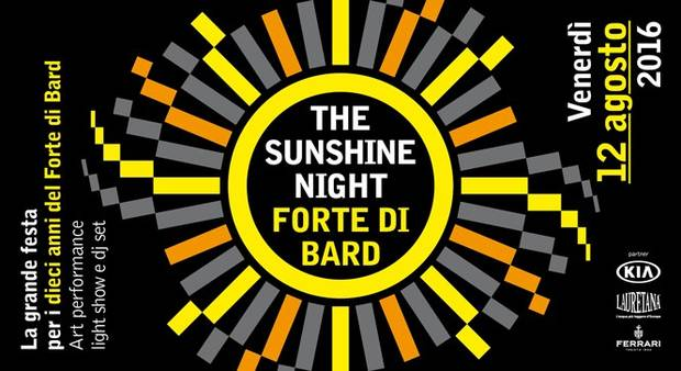 Sunshine Night Forte di Bard
