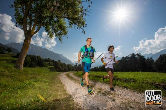 Trail running all'Outdoor Shop Test (foto organizzazione)