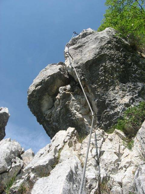 Via ferrata monte spino (foto caicarpi.it)