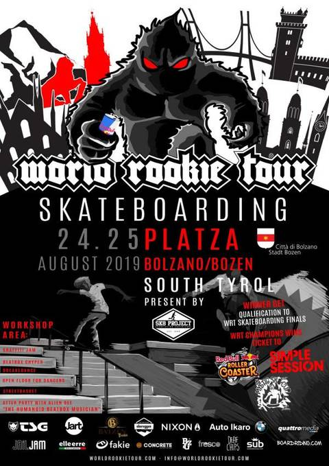 World Rookie Tour Skateboard Bolzano