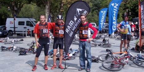 Team Pedini IRET al Raid Mercantour