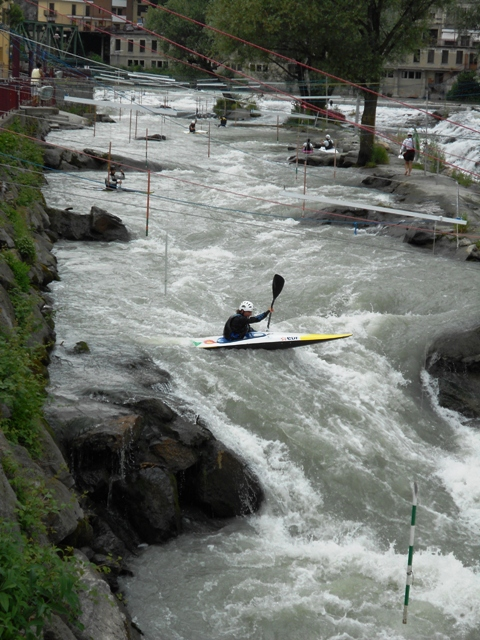 Poche ore al via della World Ranking Slalom di canoa a Ivrea (TO)